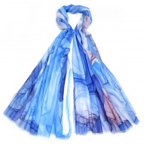 Μαντήλι - Μπλε